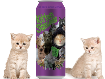 The Unknown Brewing Co. Resurrects Beloved Farmhouse Ale Kitten Snuggles