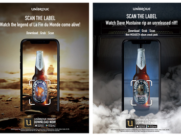 Unibroue Launches Cutting-Edge Virtual Reality Experiences via Smartphone App