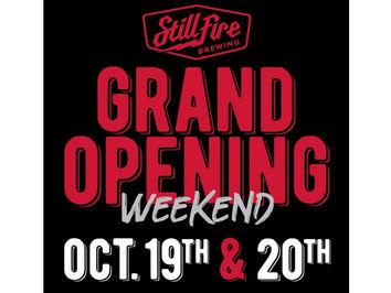 StillFire Brewing Grand Opening Slated for October 19 & 20