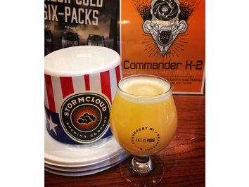 Stormcloud Brewing Co. Debuts Commander X-2 Hazy Saison