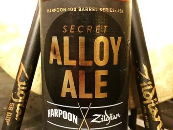 Harpoon Zildjian Beer Connoisseur