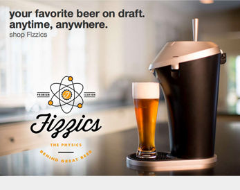 Your favaorite beer on draft anytime, anywhere.