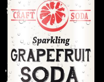 Sparkling Grapefruit Soda