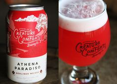 Athena Paradiso Creature Comforts Sour Fruit Berliner Weisse Beer