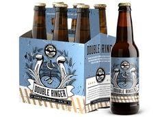 Double Ringer Upper Hand Beer