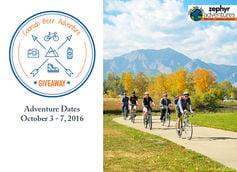 Grand Prize: Colorado Beer, Hike, & Bike Adventure - Valued at $2,500!
