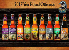 Heacy Seas Beer 2017 Year-Round Lineup