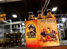 TropiCannon Citrus IPA by Heavy Seas Beer