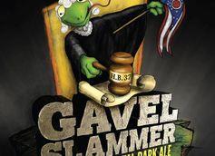 Hoppin' Frog Releases GAVEL SLAMMER 17.4% ABV Monumental Dark Ale!