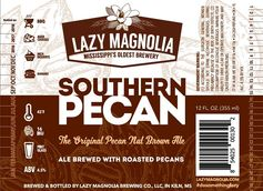 Lazy Magnolia Beer Connoisseur Southern Pecan