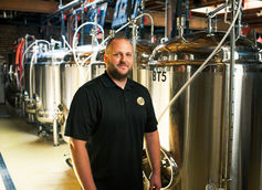 Brewer and Co-Owner Jeremy Wirtes  |  Photo by Carmen Doherty Photography