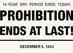21st Amendment - December 5, 1933