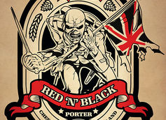 Trooper Red 'N' Black Robinsons Brewery Porter Beer