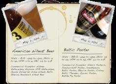 American Wheat Beer & Baltic Porter