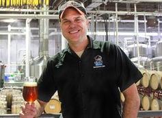 Heavy Seas brewmaster Christopher Leonard.