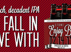 Enjoy By 02.14.17 Chocolate & Coffee IPA By Stone Brewing Co.