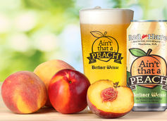 Ain't That a Peach by Red Hare Brewing Co.