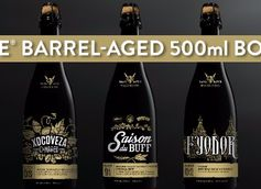 Stone Brewing Barrel-Aged Small Batch Beers