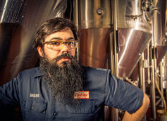 "Brian Hink: Head Brewer and ""Barrel Wrangler"" for Cape May Brewing Co."