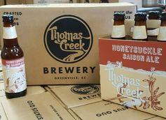 Honeysuckle Saison by Thomas Creek Brewery