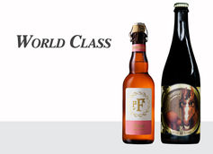World Class | Frambozen by pFriem  |  Boxer's Revenge by Jester King