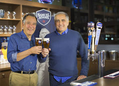 Jim Koch and Dave Burwick of Boston Beer Co.