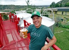 Ska brewing co-founder Dave Thibodeau celebrates 20 years of beer. (Credit: Owen Ogletree)