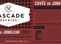 Cascade Brewing's Cuvée du Jongleur Makes First Appearance Since 2008