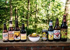 A chili beer lineup that would make Texas Pete shed a tear. (Credit: Betsy Burts)