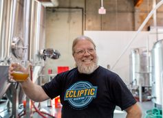 John Harris, brewmaster of Ecliptic Brewing.