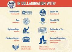 Fat Bottom Brewing Collaborates with 7 Breweries for Collaboration Nation