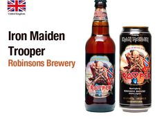 Iron Maiden Trooper by Robinsons Brewery