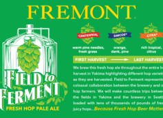 Fremont Brewing Releases Field to Ferment Fresh Hop Pale Ale