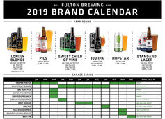 Fulton Brewing Unveils 2019 Release Calendar and New Beers