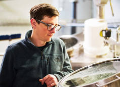 Hi-Wire Brewing Head Brewer Luke Holgate Talks Wild Grape Ale