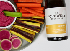 Hopewell Brewing Co. Debuts Crudités Dry-Hopped Saison