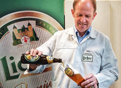 Licher Privatbrauerei Brewmaster and Head of Quality Management and Beer Production Gerhard Bößendörfer