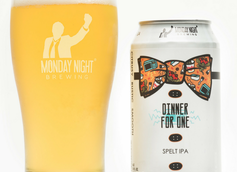Monday Night Brewing Unveils Dinner for One Spelt IPA