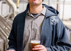 Chris Baker head brewer of Mother Earth Brew Co.