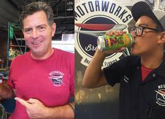 Motorworks Brewing Shift Brewers Bruce Bobitt (left) and Andrew Pollard (right)
