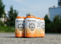 New Realm Brewing Unveils Hoptropolis IPA in Cans