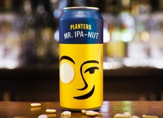Planters Releases Mr. IPA-Nut Peanut IPA With Noon Whistle Brewing