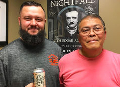 RavenBeer Head Brewer Brandon Stanko and Brewmaster Ernie Igot Talk The Imp and the Madhouse Oyster Stout