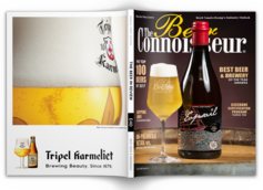 """The Beer Connoisseur Announces New Annual Print Magazine """"The Beer in Review"""" Arriving January 2019"""