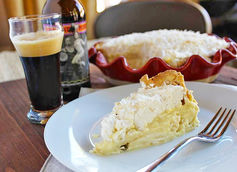 coconut cream pie and smuttynose robust porter