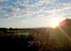 Vermont Sunset over Woodchuck Ciderstock