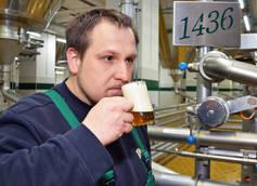 Wernesgrüner Brewery Brewmaster Markus Schwarz