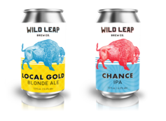 Wild Leap Brew Co. Debuts New Can Designs, Expanded Production