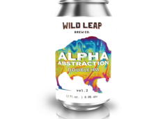 Wild Leap Brew Co. Introduces Alpha Abstraction Vol. 2 Double IPA