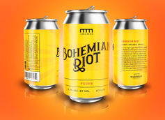 Arches Brewing Unveils Bohemian Riot Pilsner in Cans